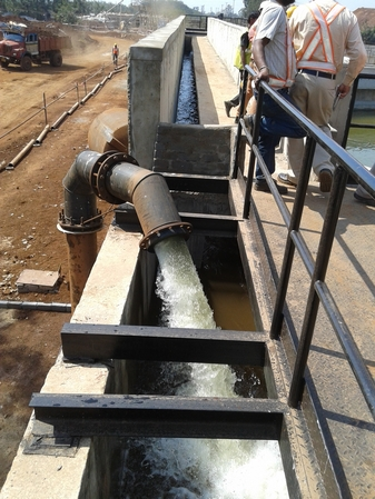 Commissioning of first stream of ETP