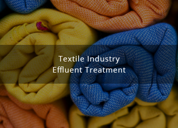 Textile industry effluent reclamation and recycling