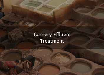 Tannery effluent treatment using membrane technology