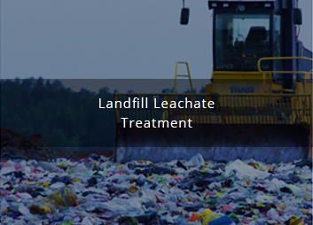MBR for treating landfill leachate